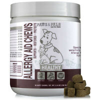Dog Allergy Aid Chews for Allergies Relief Supplement with Omega 3 for Dogs 90ct