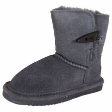 size 5 Bearpaw Victorian Youth Charcoal Suede Winter Snow Cold weather Boots