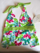 New Girls Swimwear Top Size 14 Green by St. Tropez
