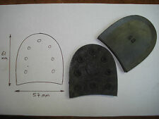 talon Morvan 60 à clouer sabot de bois 61 par 57 mm