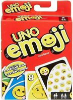 Mattel Games Uno Emoji Family Card Game Age 7 8 9 10 11 Years Old & Above UK
