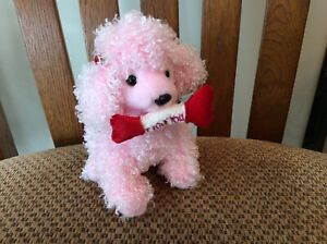 """Ty Beanie Baby """"PUP-IN-LOVE"""" the Pink Poodle  2005 (Valentines)"""