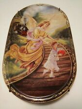 Liebebolles Geleit Bradford Exchange German Guardian Angel Plate Railroad Train