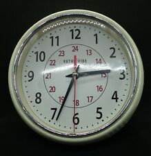 Retro Vibe Wall Clock, New Movement,