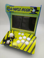 "DE-ARCADE BARTOP 10"" YELLOW PANDORA BOX 5S 1299 GAMES + CONNECTOR 15 PIN NEW"