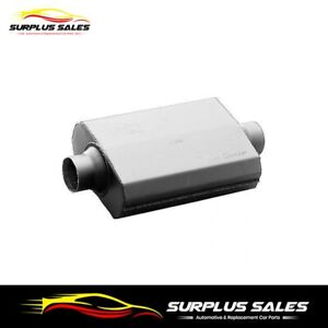 Hooker Aero Chamber Muffler 2 1/2 in. Inlet  2 1/2 in. Outlet   21516HKR