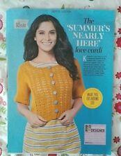 L'été presque ici ANNIKEN Allis Knitting Pattern de Magazine-dentelle Cardi