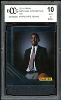 2011 Panini National Convention VIP #VIP5 Kyrie Irving Rookie BGS BCCG 10 Mint+