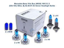 Mercedes-Benz Vito Bus (W638) 1996-03 108 D 2.3 58Kw, Xenon HL Bulbs H1 H4 H4