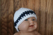 Baby Boy Preemie Hat - Caps Hand Crocheted