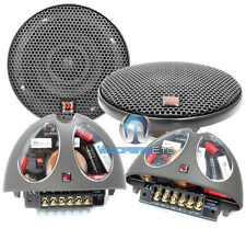 "MOREL HYBRID INTEGRA 402 4"" CAR 2-WAY QUALITY COMPONENT SPEAKERS CROSSOVERS NEW"
