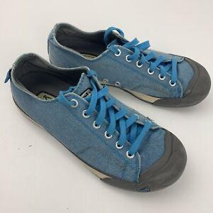KEEN Coronado Canvas Casual Sneakers Women's 8 Blue 5392-HGBR