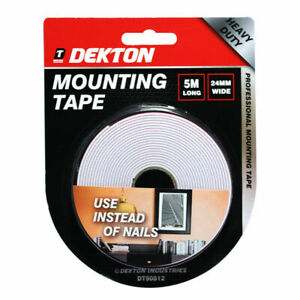 Dekton Red Release Line Mounting Tape 24mm X 5m