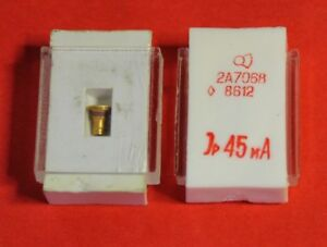 2A706V Si Avalanche Transit Time diode 7...10 GHz USSR  Lot of 2 pcs