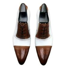 British Men Dress Formal Real Leather Business Shoes Carved Pointy Toe Oxfords L