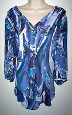 WOMENS TOP SIZE 18/20 LANE BRYANT MULTI COLOR NEW LOW SHIP