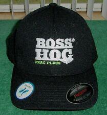 Rare Boss Hog Frac Plugs Downhole Technology Oil Energy New Hat Cap Flexfit S-M