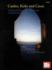 Castles, Kirks and Caves Tradiditional Tunes Cello Music Book SAME DAY DISPATCH