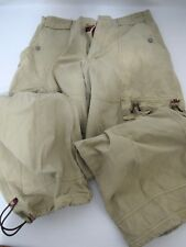 AG Adriano Goldschmied Cargo Chino Brown Pants $235 SIZE W32 L30