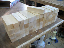 56 Pieces of Clear Northern White Cedar 1.5 X 1.5 X 6