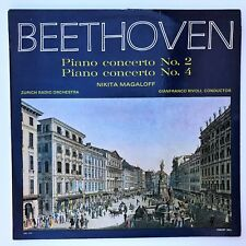 Classic Record Beethoven Piano Concerton 2 & 4 in B flat & G major Op. 19 & 58