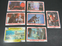 VINTAGE TOPPS 1980 LOT 7 STAR WARS THE EMPIRE STRIKES BACK TRADING CARDS