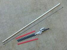 Lance tube aluminium + cardan 8mm + taille haie 7 cannelures 1m50 Ø26mm