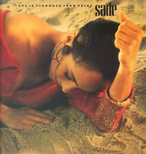 "SADE "" LOVE IS STRONGER THAN PRIDE "" MAXI SINGLE NUOVO  1988 MADE IN HOLLAND"