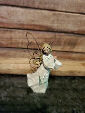Angel accents lily of the Valley Exclusively by Roman, Inc. Wood 4 1/2 inch