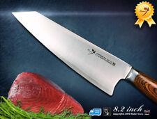 Premier-Kiritsuke-Chef-knife 8.2 in Japanese VG-10 Steel Kitchen Cutlery-New