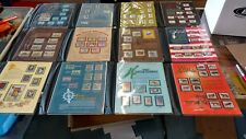 LOT OF 24 SHEETS WORLD OF STAMPS SERIES