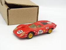 Provence Moulage Kit Montado SB 1/43 - Ferrari 312P #22 Sebring 1969 Parkes