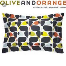 Orange taies d/'oreiller Paire Lot de 2 En Polycoton Taille standard 200 fils au pouce