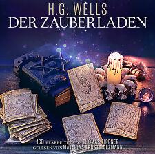 Audiobook CD The zauberladen von H.G.Wells Read M.E.Holzmann