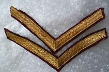 Parachute Regiment No 1 Dress PARA Maroon Lance Corporal Stripes, PAIR (10x15cm)