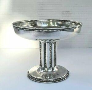 Art Nouveau Wilhelm Binder WTB German 800 Silver Footed Bowl