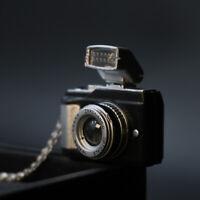 Travel Enthusiast - Photoflash Camera 3D Pendant Photographer Charm Necklace
