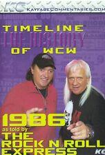 WCW Timeline 1986 Rock n Roll Express Four Horsemen Midnight Jim Cornette Flair