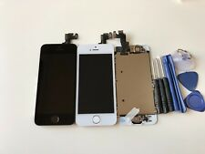 For iPhone 5S LCD Complete Full White Screen Digitizer with Home Button + Camera