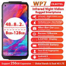 OUKITEL WP7 6.53 inch FHD + Global 8GB 128GB Dual 4G Rugged Smartphone 8000MAH