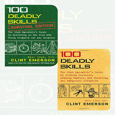Clint Emerson 2 Books Collection Pack Set NEW 100 Deadly Skills,Survival Edition