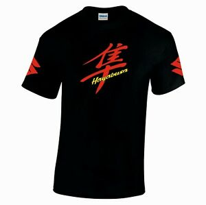 Suzuki hayabusa motorbike motorcycle tribute t shirt top tshirt