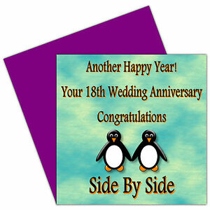 1st - 24th Years Your Wedding Anniversary Card - Friends  Special Couple - Posie