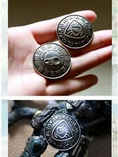 Laputa: Castle in the Sky Accessory  Metal Studio Ghibli Pin Brooch Badge 2pcs