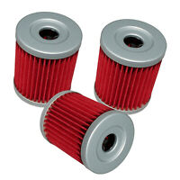 Oil Filter for Arctic Cat 250 2X4 1999-2005  250 4X4 2001-2005 3-Pack 3436-005