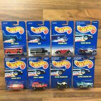 Vintage Hot Wheels 1990-1992 Vehicles Choose Your Car On Original Cards