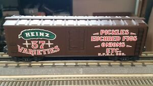 K-Line O Scale Heinz Pickles Wood Sided Reefer. #363