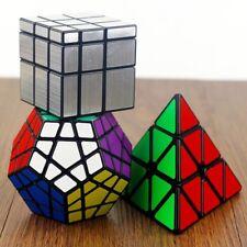 MASCARELLO Cube Set of 3 Pyraminx Magic Cube Megaminx Mirror Speed Puzzle Cube