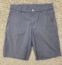 "Lululemon Commission 10"" Mens Shorts-Lite Gray-Tagless(34x10)"