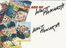 "The Art of Walt Howarth - A1 ""Walt Howarth"" (Doctor Who Artist) Autograph Card"